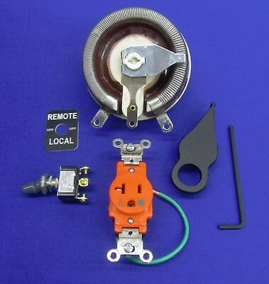Fits Lincoln Welder Sa 200 250 Gas REMOTE KIT Rheostat Knob Switch Boot & Plate