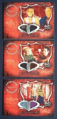 """Buffy """"Connections"""" Pieceworks Karten"""