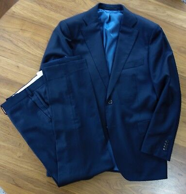 Suit Supply Staple Navy Suit, 42R jacket, 35x31 trousers