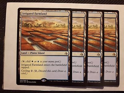 Irrigated Farmland x 4 MTG Magic the Gathering (NM)