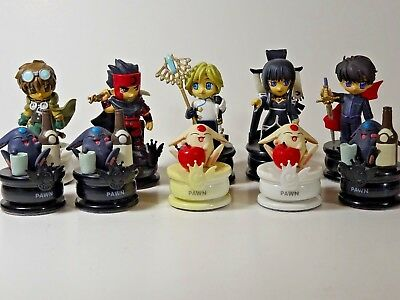 10 PIECE Clamp Anime Chess Pieces NICE LOOK!  FILE05