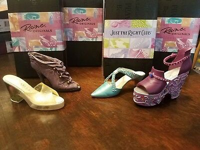 Just The Right Shoe-Crocus- Mardi Gras- Society Slide- Cloaked In Mystery- Coa