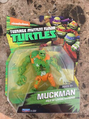 Teenage Mutant Ninja Turtles 2017 MuckMan !! Playmates Short Run RARE