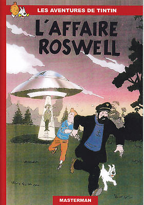 Tintin Hommage A Herge  L'affaire Roswell