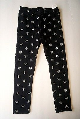 Girls 4T The Children's Place Snow Flake Jeggings Pants Toddler Skinny Spandex