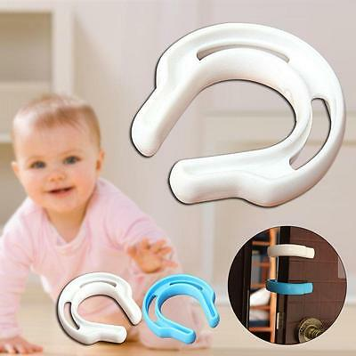 Plastic Child Safety Door Stopper Pad Baby Finger Protection Door Jam Guards BT