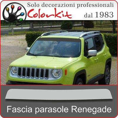 Fascia parasole per Jeep Renegade 2014 - by Colorkit 001417