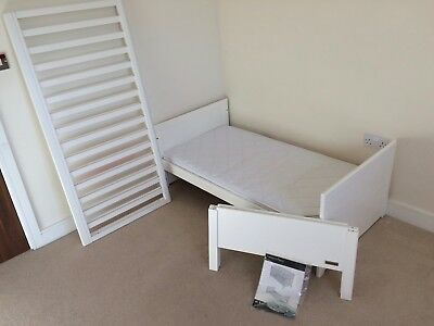 mamas papas nursery furniture three piece yale set white