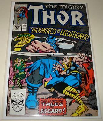 The Mighty THOR # 403  Marvel Comic  (May 1989)   FN   Enchantress & Executioner