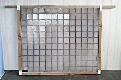 Antique Frank Lloyd Wright Luxfer Leaded Glass Window Panel Architectural C.1900