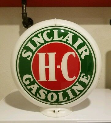 Antique Sinclair H-C Globe/ Gas Pump Globe - All Original!!