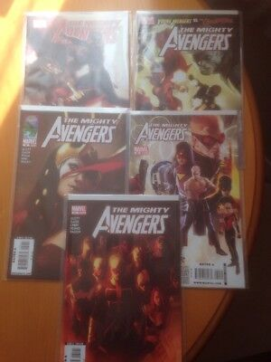 Mighty Avengers (2007) #27 28 29 30 31 Young Avengers - 5x Marvel Comics