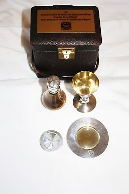 Rare Knights Templar Travelling Ceremony Kit 1886 (Free Delivery)
