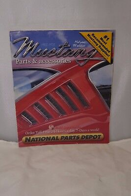 NPD National Parts Depot Mustang Parts & Accessories 1965 - 1973 Mid Year 1999