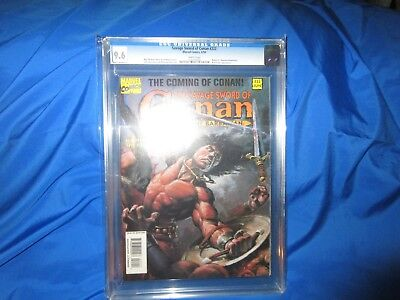 Single Highest Graded!!! The Savage Sword Of Conan 222 Cgc 9.6  Low Print Issue
