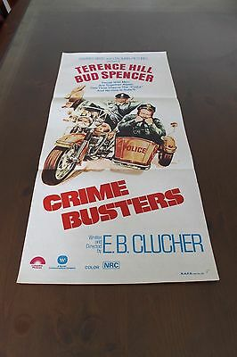 Crime Busters - Original Daybill Movie Poster