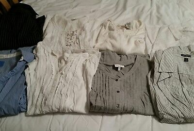 Womans plus size 30/32 tops 8 qty Fashion Bug and others