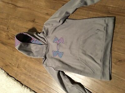 Girls under armour sweatshirt size medium
