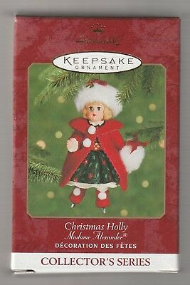 2000 Hallmark Keepsake Christmas Holly Madame Alexander Ornament NEW