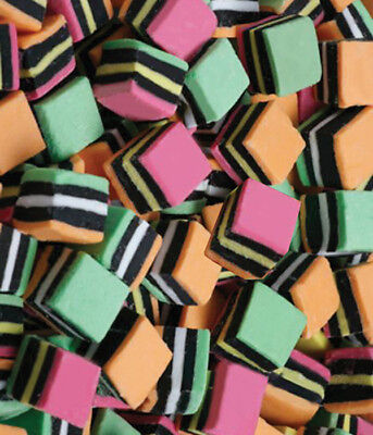 Licorice Allsorts 1kg Bulk Lollies Bag for Lolly Buffet - The Lolly Shop
