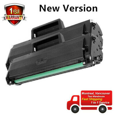 2PK MLT-D104S Toner Cartridge For Samsung ML-1660 1665 1675 1865 SCX-3205 3200