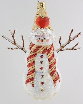 Patricia Breen MORTON STREET SNOWMAN - Gingerbread NM Houston Exclusive
