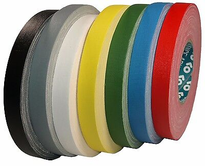 AT160 Gaffer Waterproof Woven Tape 19mm x 50m Premium Quality Surface Matte