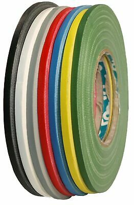 Woven Tape Spike Gaffa Tape Matte 5mm x 50m Fine Line Adhesive Tape Extra Narrow
