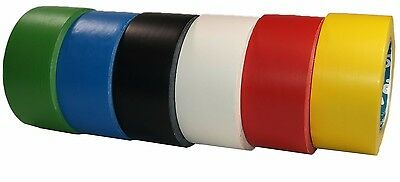 At8 PVC Floor Marking Tape 50 mm x 33m Strong Adhesive Road Marking