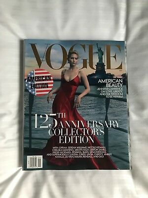 Vogue Usa 2017 - Jennifer Lawrence - 125Th Anniversary Collector's Edition