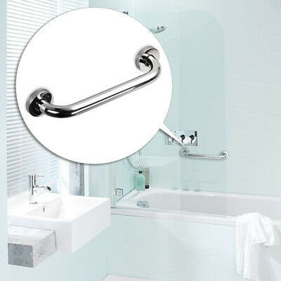 2X Bathroom Shower Wall Grab Bar Safety Grip Handle Towels Rail Stainless Steel