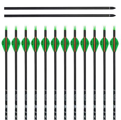 12 VICTORY CARBON V1 Complete Arrows 600 XPERT SERIES Vforce Expert .001 1DZ