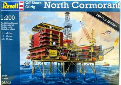 Revell 1:200 Off-Shore Oilrig North Cormorant  8803
