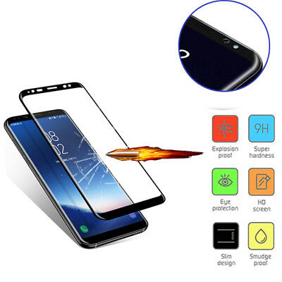 VETRO Temperato Screen Protector Protezione per Samsung Galaxy S8 S9 Plus Note 8