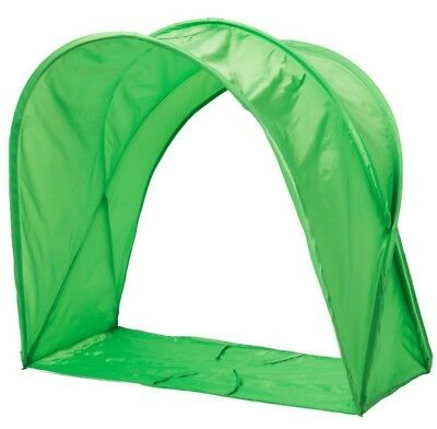 Ikea Sufflett Childrenu0027s Bed Tent/ Canopy- For Kids Single Bed- Pink Or Green  sc 1 st  PicClick UK & IKEA SUFFLETT Childrenu0027s Bed Tent/ Canopy- For Kids Single Bed ...