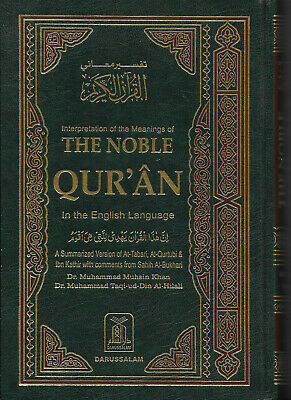 The Noble Quran Arabic Text with English Translation (Small- PB)
