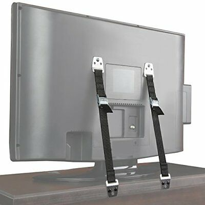 Safety Baby Metal Furniture TV Straps Earthquake Proof Bolts & Hardware Included
