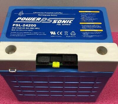 Power-Sonic PSL-24200 Lithium Iron Phosphate (LifePO4) Rechargeable Battery(c6)