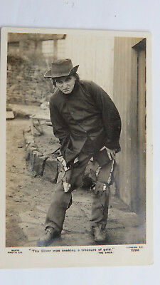 1910s Vintage Photo Postcard Old Song The Diver Hobo Tramp G. Douglas Thompson