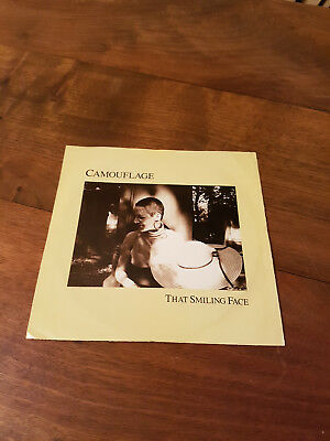Camouflage That Smiling Face Vinyl Single 7inch Atlantic Records