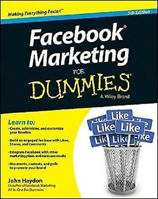 Facebook Marketing for Dummies 5th Edition  PDF Read on PC/SmartPhone/Tablet
