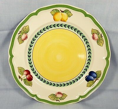 """NWT ~ Villeroy & Boch French Garden Fleurence Germany Dinner Plate 10-1/2"""""""