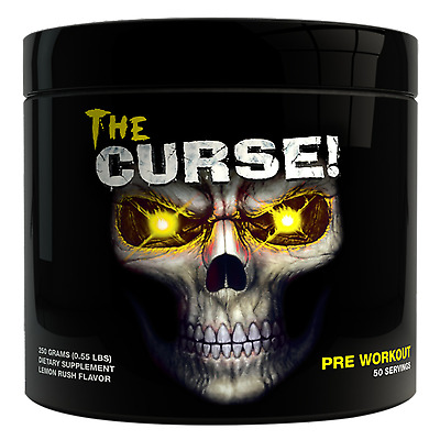 Cobra Labs The Curse - 250g 50 Servings All Flavours Mind Blowing Pre-Workout!