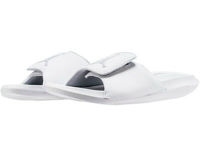 9710305e9d23 MEN S AIR JORDAN Hydro 6 Slide White Pure Platinum Sz 8-13 New in ...