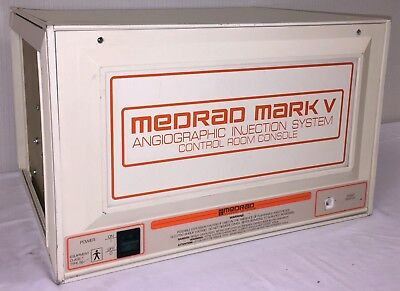MEDRAD Mark V Angiographic Injector System Control Room Console 5I4RU
