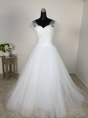 701 lace A-line handmade wedding bridal gown chapel princess