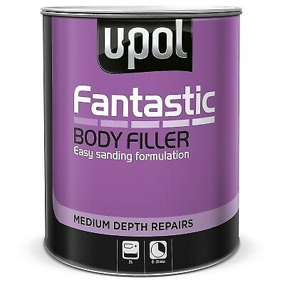 U-POL Fantastic Lightweight Body Polyester Filler 3 LTR Inc Hardener BEST