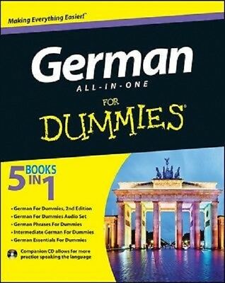German All-in-One For Dummies  Read on PC/Phone/Tablet