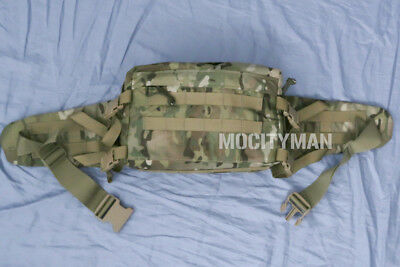 US Military Multicam Combat Lifesaver Medical Padded Waist Pack - USA - NICE