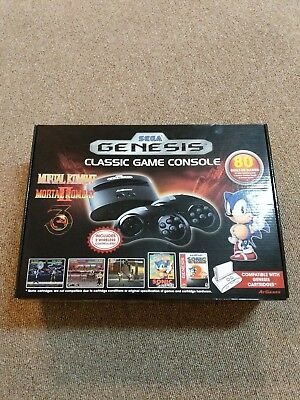 AtGames Sega Genesis Classic Game Console w/ 80 Built-In Games 2016 Model